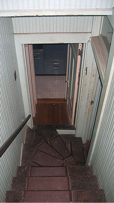 Old Stairwell to second floor