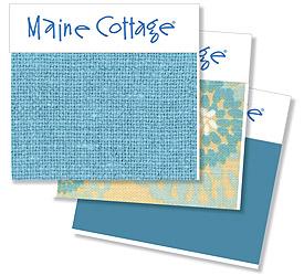 Maine Cottage color: Sea