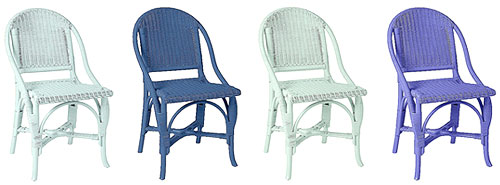 Blue Bistro Chairs