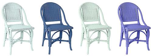 Blue Bistro Chairs