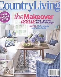 Country Living magazine, September 2010