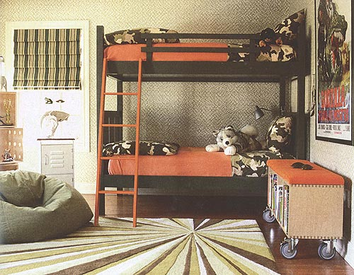 Maine Cottage Bunk Beds in Design New Jersey magazine