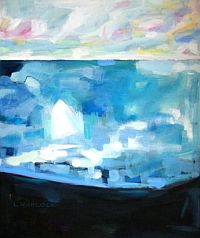 First Sail by Laurie Hadlock