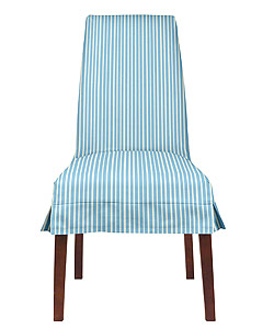Maine Cottage Jackie Dining Chair in Stripe Tease