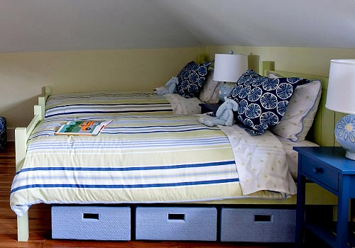 Maine Cottage Bunk Room