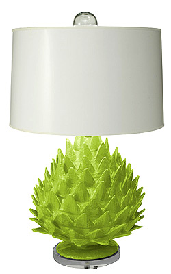 Artichoke Lamp by Stray Dog Designs at Maine Cottage