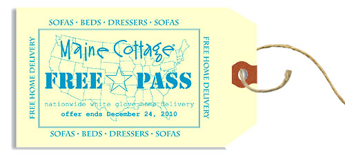 Maine Cottage Free Pass